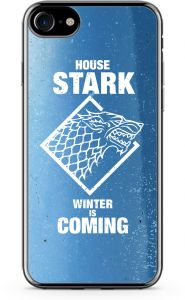 Loud Universe iPhone 7 Transparent Edge Case - Game Of Thrones House Stark Winterfell- 1 Piece