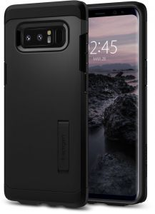 Spigen Samsung Galaxy Note 8 Tough Armor cover / case - Black