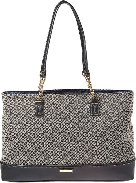 Tommy Hilfiger Judy II Tote Bag For Women - Black  cae8a825d35a3