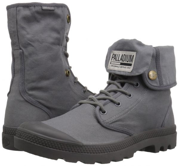 588750bb08a Palladium Men's Baggy Army Trng Camp Chukka Boot, French Metal ...