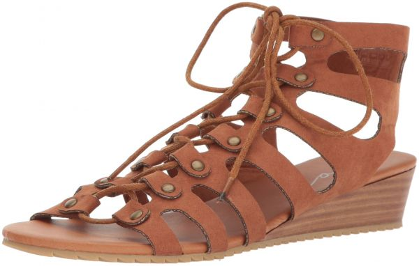 Coolway Calda Open Toe Wedge Sandals fHqUXf