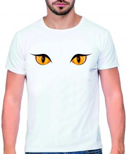 Buy Bedroom Eyes Halloween Mens T Shirt Trevco Obey Freeze Uae