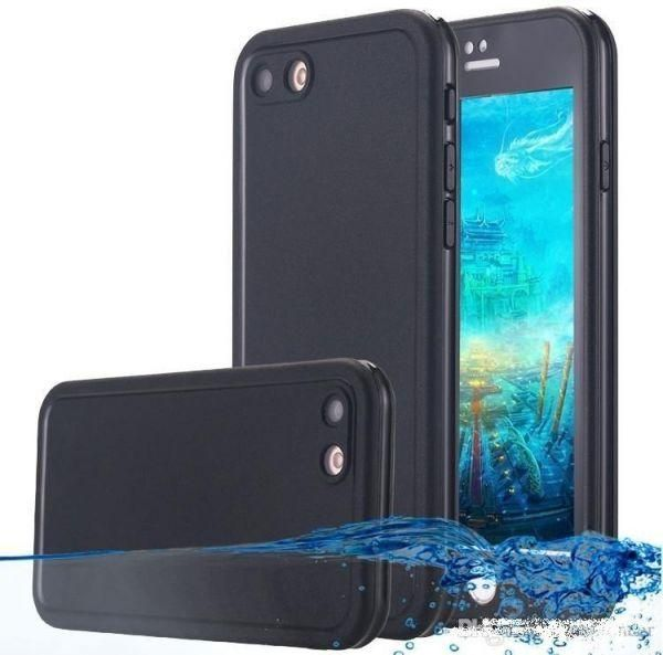 100% authentic 88937 4bb27 iPhone 8 Waterproof, Dust Proof and Shockproof Case Black Color. Full Body  Protective Cover for Apple Iphone 8