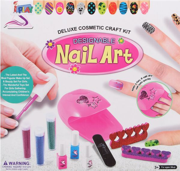 Souq Deluxe Cosmetic Craft Kit Designable Nail Art Zd87026 For