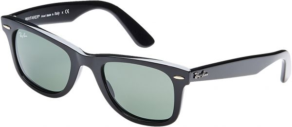a6bfed3e30 Ray Ban Wayfarer Unisex Sunglasses - RB21409015-901 - 50-50 -20-145 mm