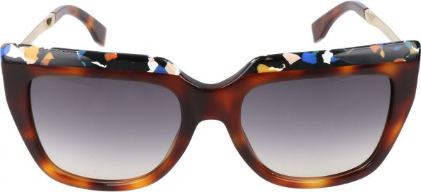 Fendi Rectangle Womens Sunglasses FF 0087S CUA9C 53 19 140 MM