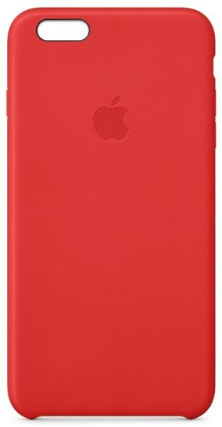 d529e7783 Apple iPhone 6 Plus   6s Plus Leather Case - Bright Red