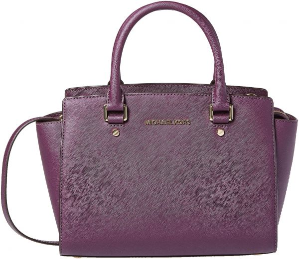 Michael Kors Bag For Women Purple Tote Bags