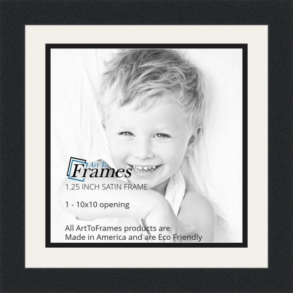 Arttoframes Collage Photo Frame Double Mat With 1 10x10 Openings