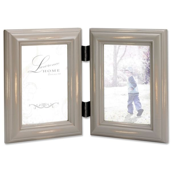 Souq | Lawrence Frames Hinged Double Picture Frame, 4 by 6-Inch ...