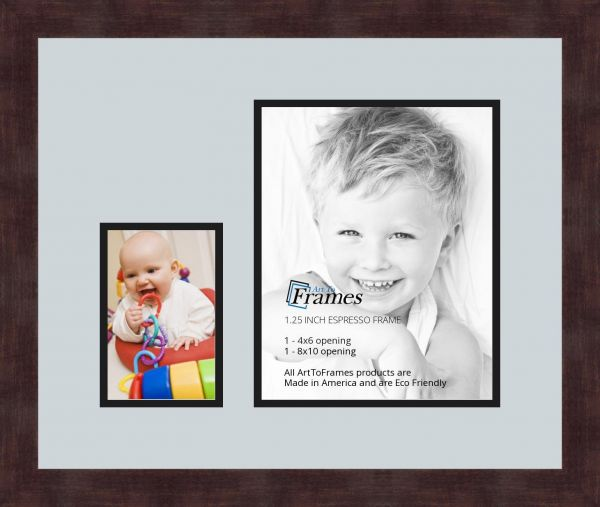 Art to Frames Double-Multimat-249-860/89-FRBW26061 Collage Frame ...