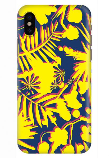 Stylizedd iPhone XS / iPhone X Snap Classic Matte Case Cover Matte Finish -  Hawaii Jungle