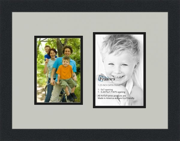 Souq | ArtToFrames Collage Photo Frame Double Mat with 2 Openings ...