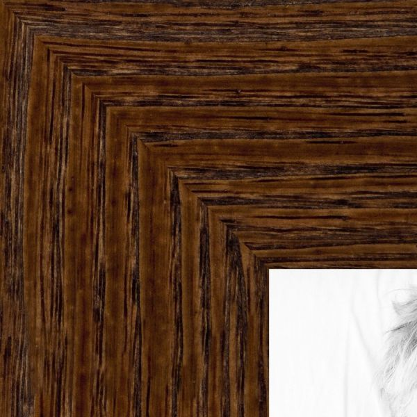 Souq Picture Frame Black Distressed Wood 175 Wide 8 X 30