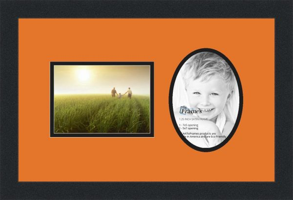 Souq Arttoframes Collage Photo Frame Double Mat With 2 Openings