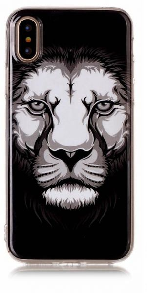 Xact Soft phone case for Samsung galaxy S8 plus lion