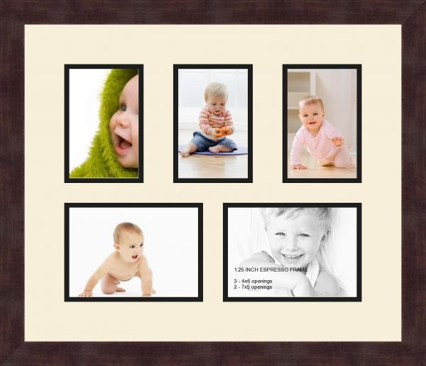 Souq | Art to Frames Double-Multimat-259-128/89-FRBW26061 Collage ...