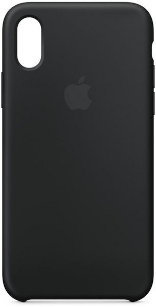 49745c41e1c62 Apple iPhone X Silicone Case - Black