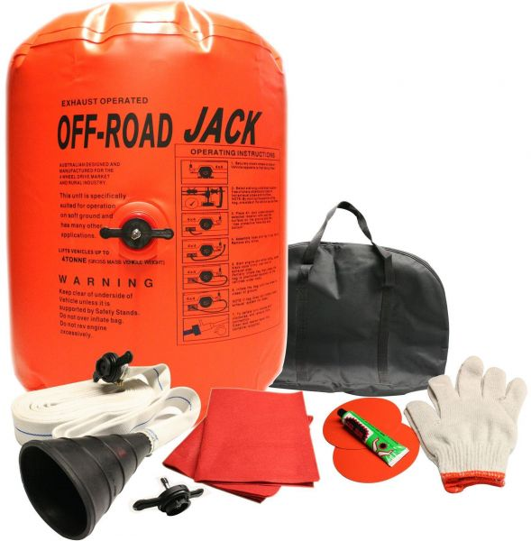 Car Air Jack Inflatable Bag Orange Color Price Review And