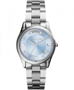 9a5d81809bc1 Michael Kors Colette Watch for Women - Analog Stainless Steel Band - MK6068