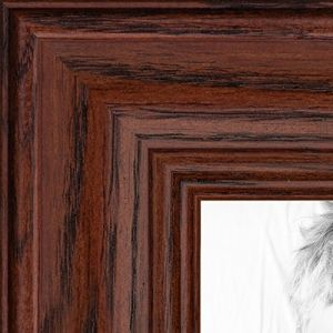 Picture Frame Black Stain On Solid Red Oak 125 Wide 10 X 25