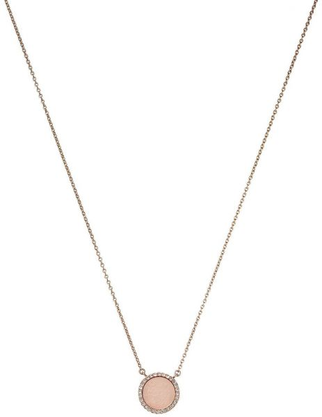 Michael Kors Women's Rose Gold Necklace MKJ4330791 05tCD