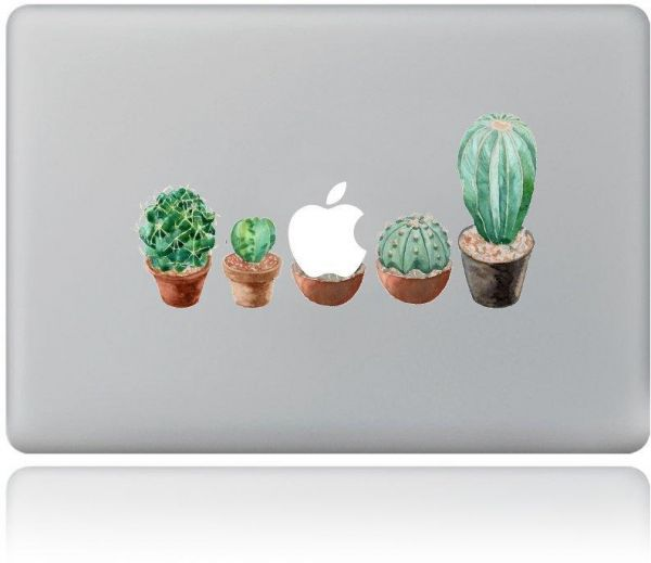 huge selection of 980d8 3fcf6 Virant Ball Cactus Laptop Decal Cover Sticker Vinyl Protector Skin for  Apple Macbook Air Pro Mac 11 inch to 15 inch