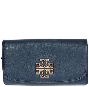 0395c0a572a7 Tory Burch Britten Duo Envelope Wallet Continental Leather Hudson Bay
