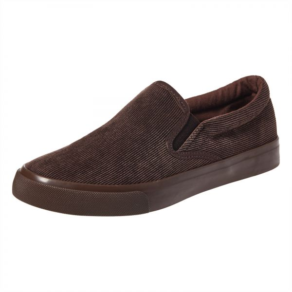 Shoexpress Brown Slip On For Men