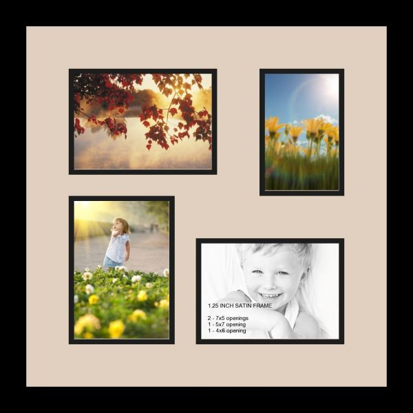 Art to Frames Double-Multimat-1134-782/89-FRBW26079 Collage Photo ...