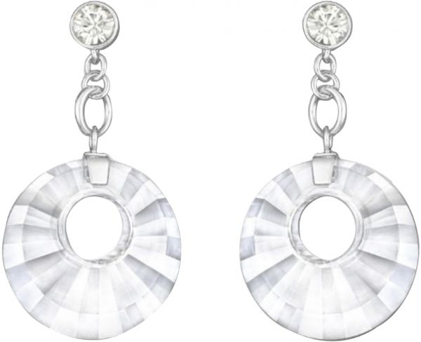 Swarovski Women Platinum Earring 1182704
