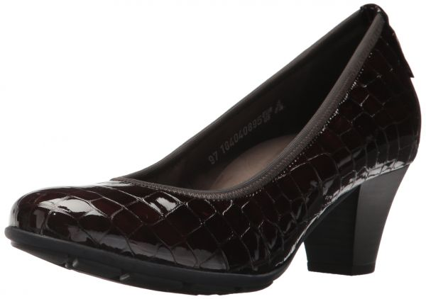 Mephisto Mephisto Women s Brigita Dress Pump Black Crocodile Outlet