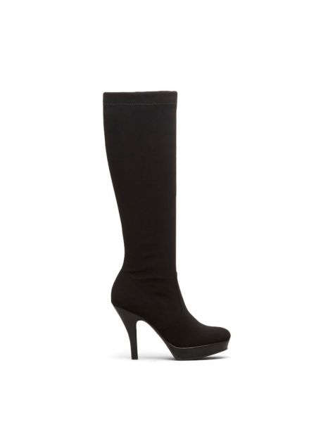 Women's Group File Stretch Shaft Over The Knee Boot