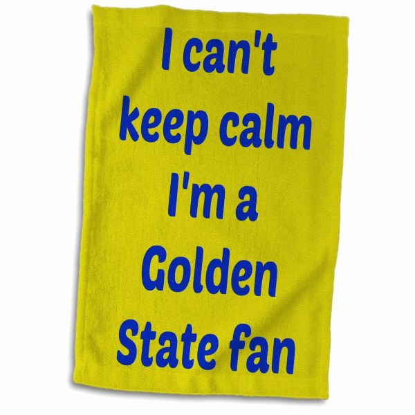 3drose Jacob Ariel Sport Quotes I Cant Keep Calm Im A Golden State