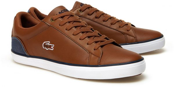 9d10d0ed1cd0b Lacoste Brown Fashion Sneakers For Men