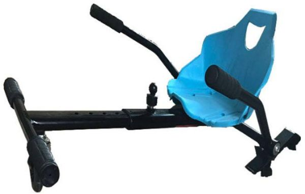 Cool Baby Hover Kart Chair For balance Scooter-blue