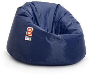 Amazing Bomba Regular Waterproof Bean Bag Dark Blue 105X70X65Cm Pabps2019 Chair Design Images Pabps2019Com