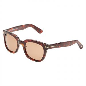 6701cfb1e5 Tom Ford Campbell Wayfarer Sunglasses for Women - Brown Lens