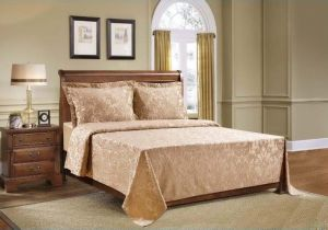 Cannon Winter Bed Sheets, Single Size, 3 Pcs Set   CAMEL
