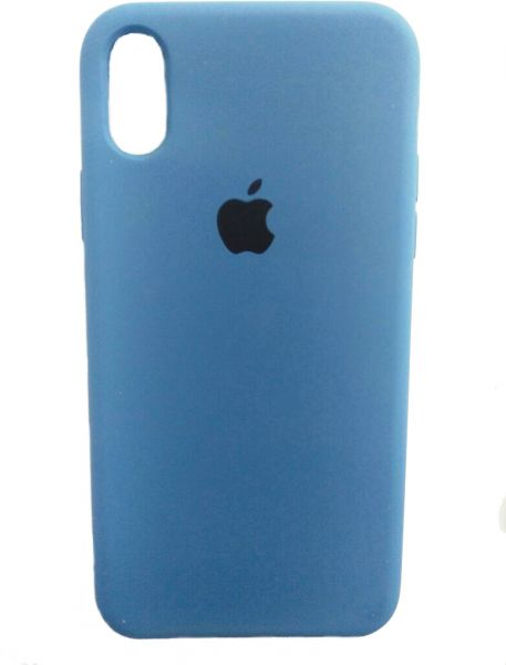 iPhone X Silicone Cover - Blue