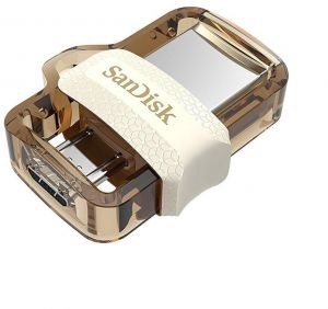 SANDISK ULTRA DUAL DRIVE M3.0 - 64GB Gold Edition (SDDD3-064G-G46GW) : Buy  Online USB Flash Drives at Best Prices in Egypt | Souq.com