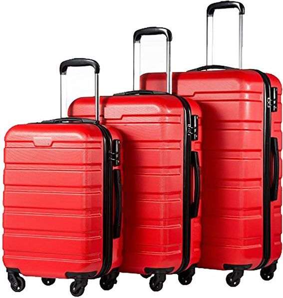 Le Voyageur 4 Spinner Wheel 3 Piece Luggage