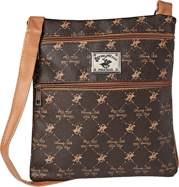 Beverly Hills Polo Club Crossbody Bag For Women Brown