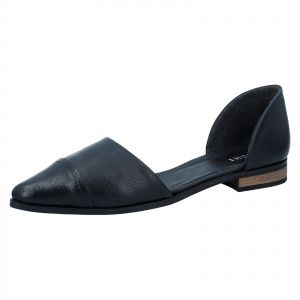 Ichi Flat Shoes for Women - Black