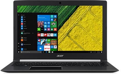 Acer Aspire 5 A515-51 Laptop - Intel Core i7-7006, 15.6 Inch, 1TB, 8GB, 2GB  VGA, Eng-Arb-KB, Windows 10, Black