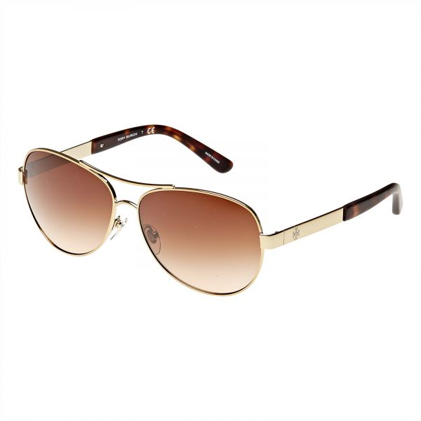 f8e24dfaff4 Tory Burch Women s Aviator Sunglasses - TY6047-316013-59 - 59-13-135 ...