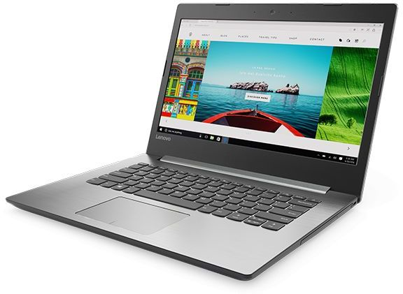 Lenovo IdeaPad 320 Laptop - Intel Core i5-7200U, 14 Inch, 2TB, 8GB, 4GB  VGA, Eng-Arb-KB, Windows 10, Platinum