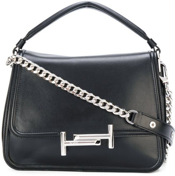 Shoulder Bag for Women On Sale, Silver, Leather, 2017, one size Tod's
