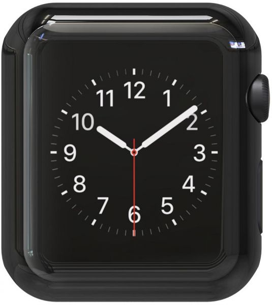 Apple watch case for Series 2 42mm Full cover Screen glass protector  Electroplate Metal Bumper Anti Scratch Shockproof Space Gray