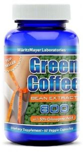 Martizmayer Pure Green Coffee Bean Extract 800mg With Chlorogenic
